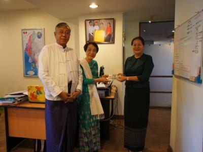 ミャンマー新大統領がティン チョー氏に決まりました。